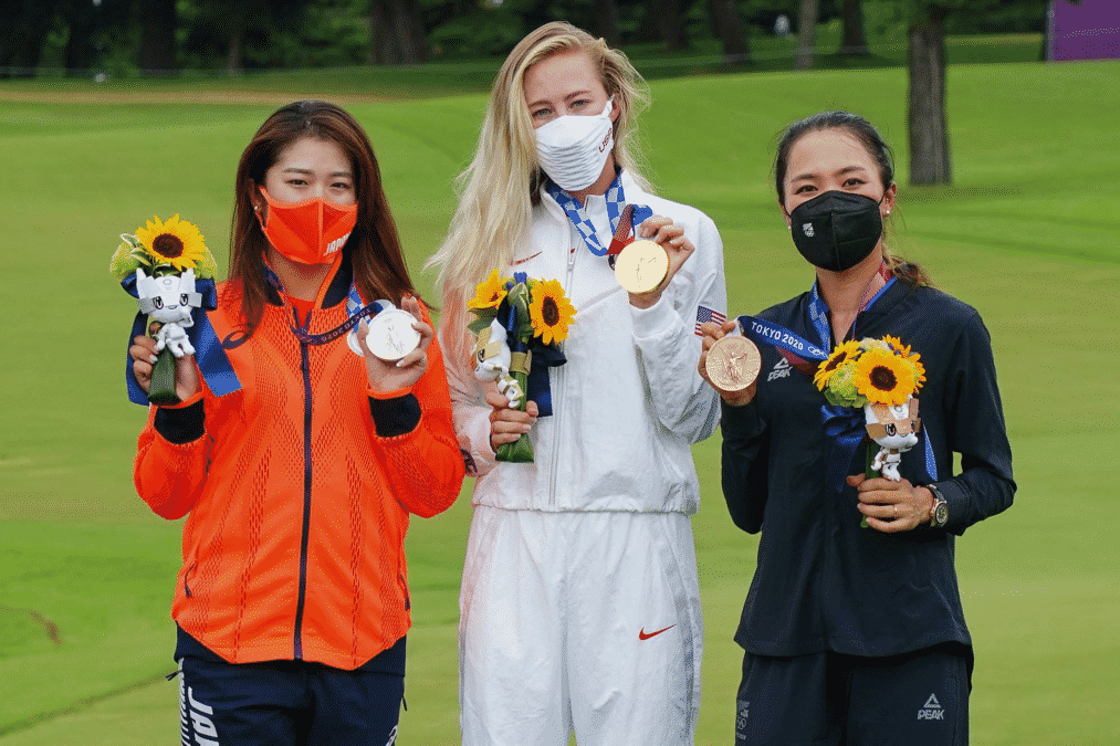 Olympic Medallists Womens Golf