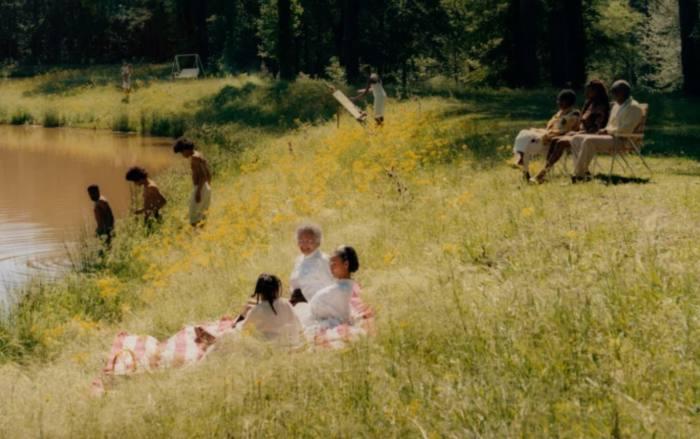 'Riverside Scene', 2021, by Tyler Mitchell