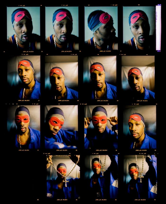 Rapper Rza as his alter ego Bobby Digital in the 1990s
