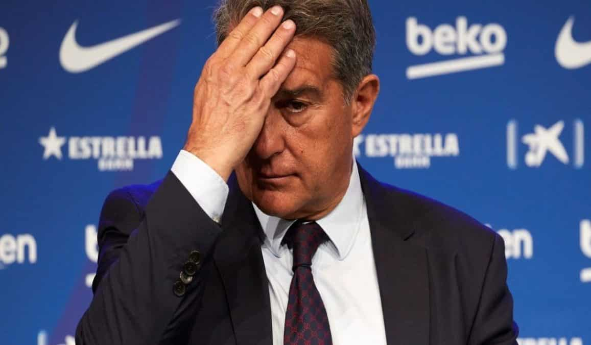 Barcelona Club President Joan Laporta Unable To Secure Messi