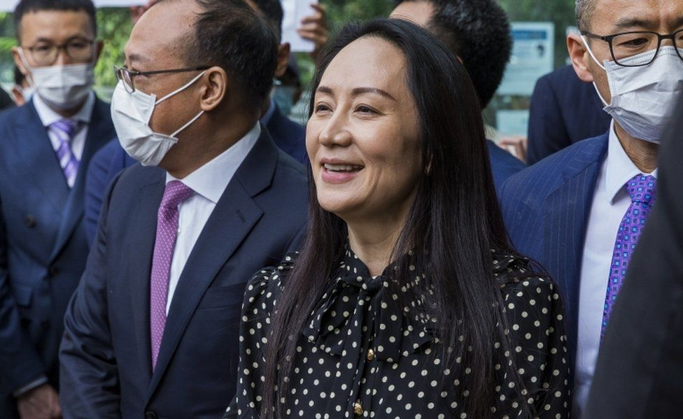 Huawei's Meng Wanzhou flies back to China after deal with US
